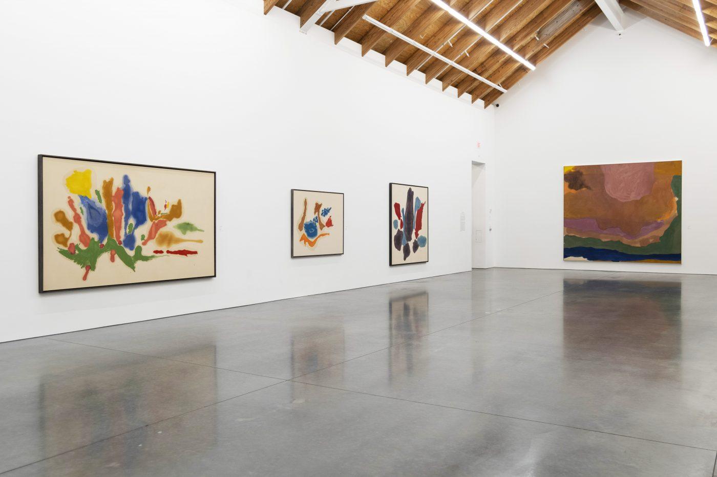 Helen Frankenthaler Install View