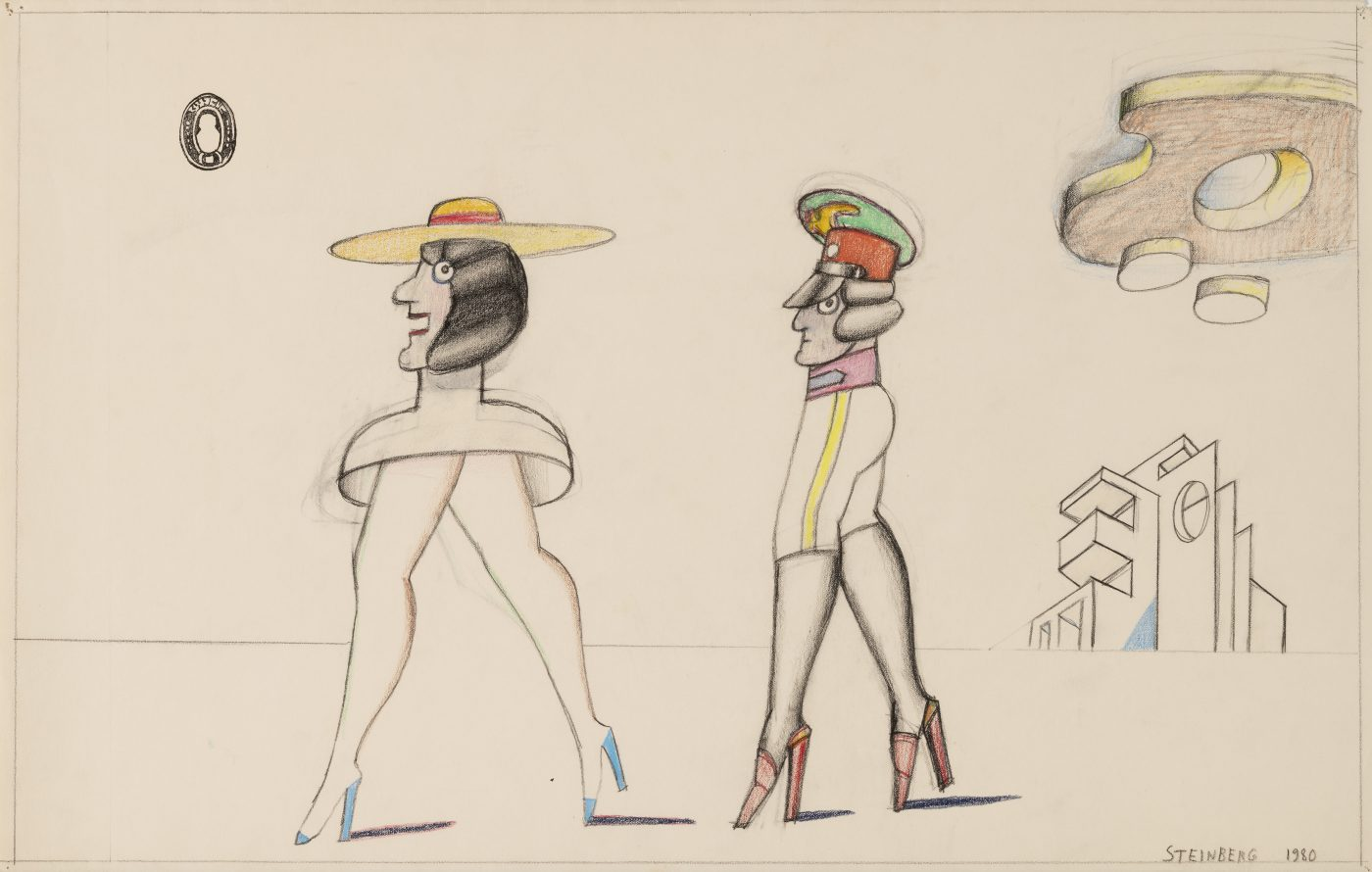Saul Steinberg, Untitled, 1980