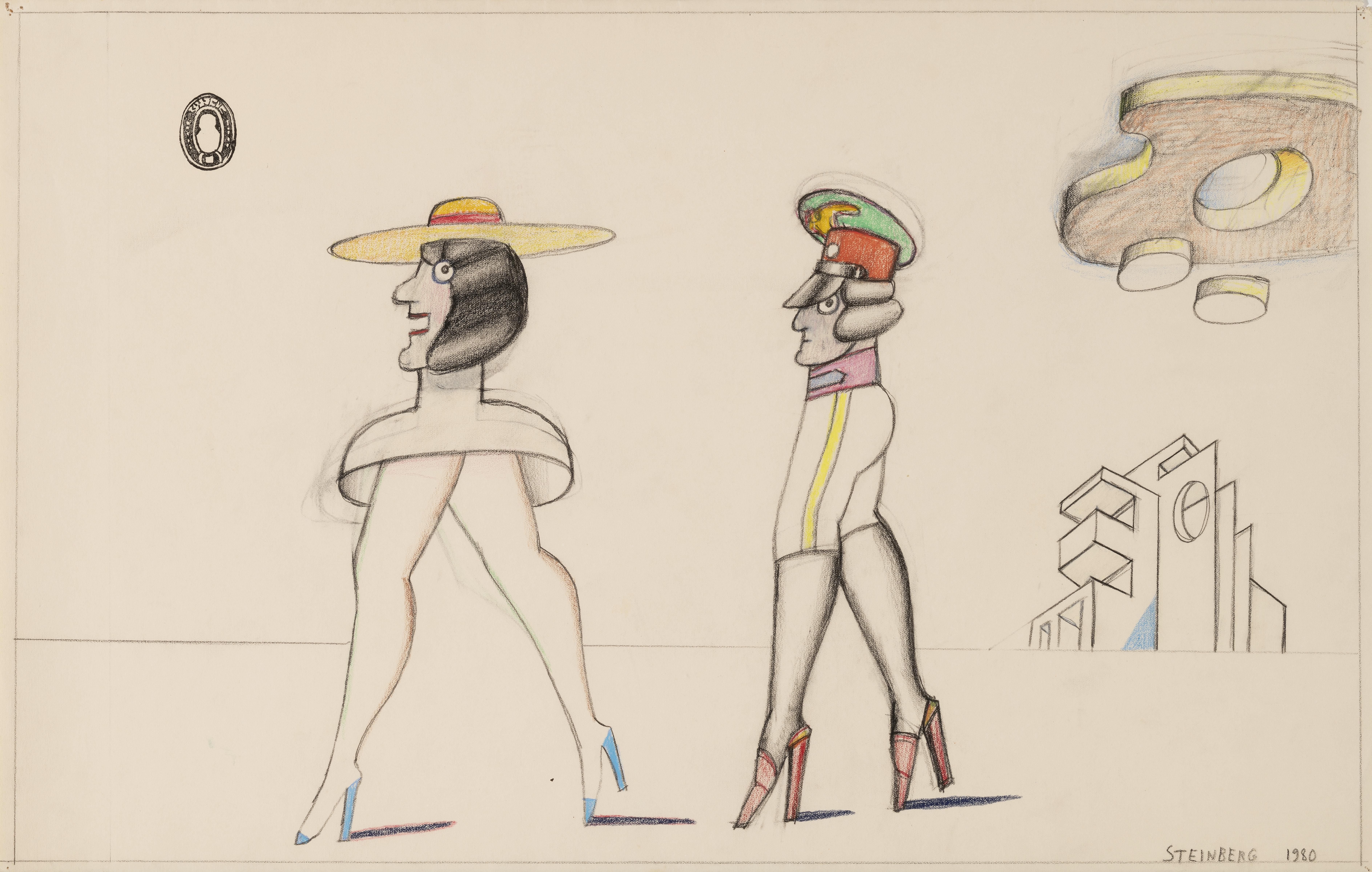 Saul Steinberg, Untitled, 1980
