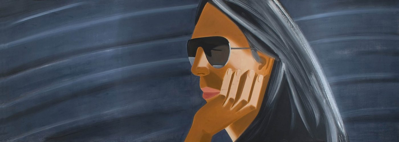 Alex Katz, Dark Sunglasses