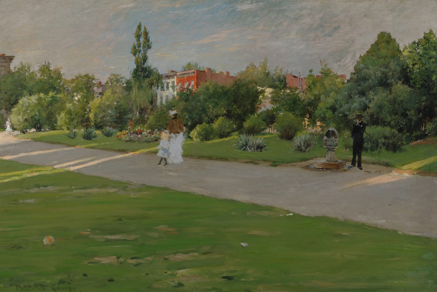William Merritt Chase, Park in Brooklyn