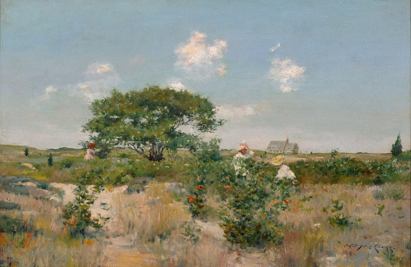 William Merritt Chase, Shinnecock Landscape, ca. 1894