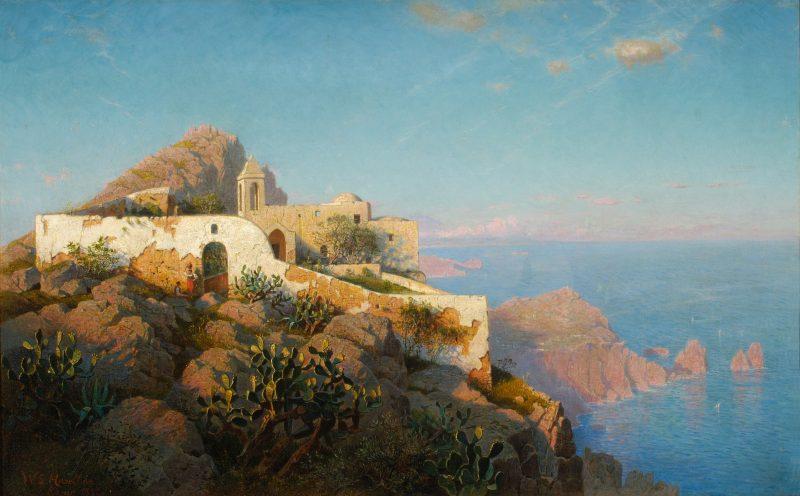 William Stanley Haseltine, Anacapri