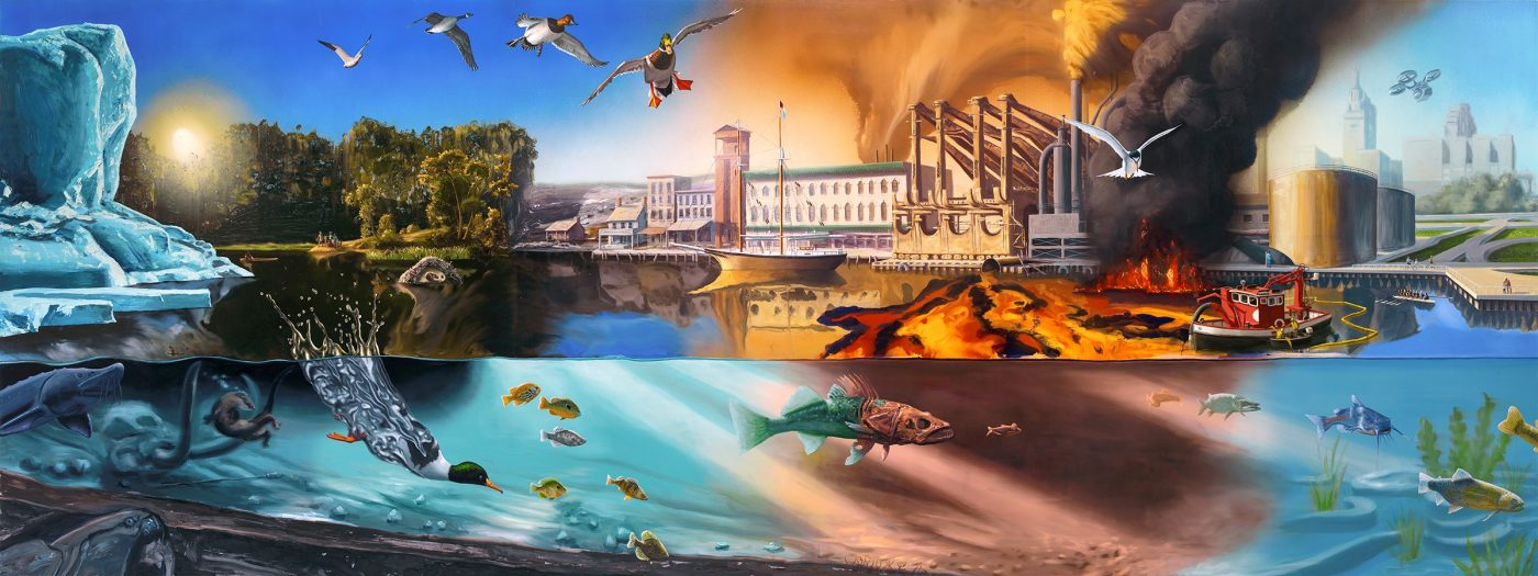 Alexis Rockman, Cuyahoga River