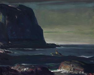 George Wesley Bellows (American, 1882–1925), Evening Swell, 1911.